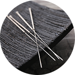 Acupuncture therapy with needles help to heal varying ailments.